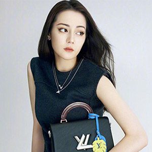 迪丽热巴Louis Vuitton大片曝光