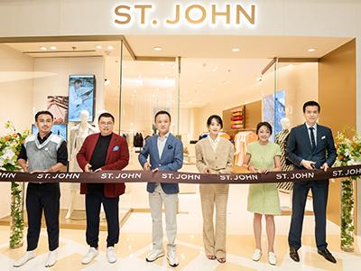 传承加州格调,织就优雅匠心 ST. JOHN上海外滩金融中心BFC精品店焕新揭幕