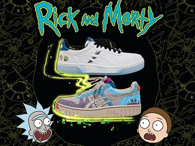 ASICS携手Rick and Morty,踏上星际冒险新旅程